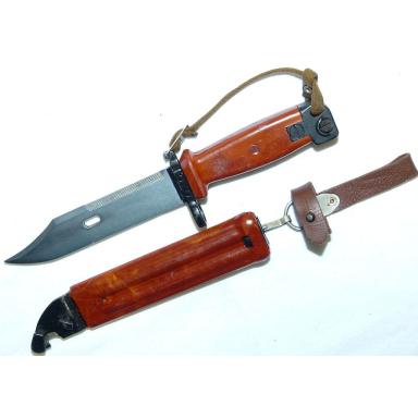 Original AK-Bajonett mit Kunststoffscheide M59/2
