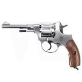 Nagant M1895 Revolver Silber 4,5mm BB CO2