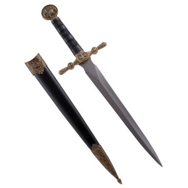 Dekowaffe Salomondolch mit Stahlklinge, 35 cm
