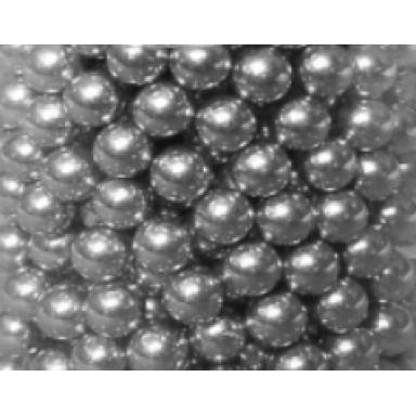 Aluminium-Rundkugeln 6 mm 500 St. Luftdruck CO2 und Munition