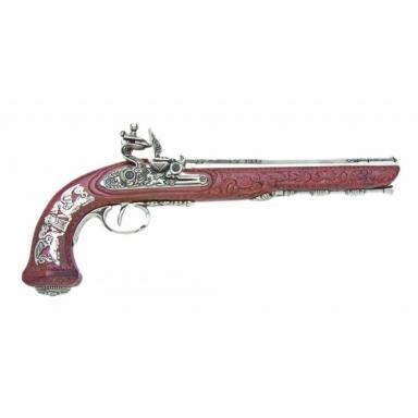 Макет деникс 1810 Французский кремневый пистолет Декоративное оружие