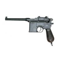 """Pistole """"Mauser C 96"""" VOLLSTÄNDIGE GRÖSSE / GEWICHT KOPIE"""